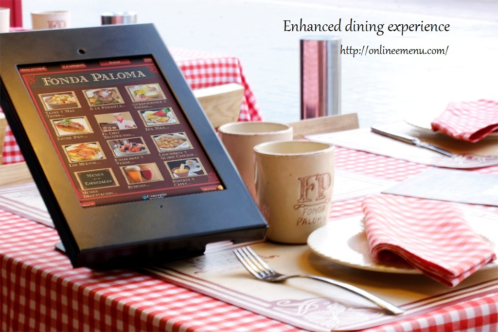e-Menu Order Software System for Restaurant