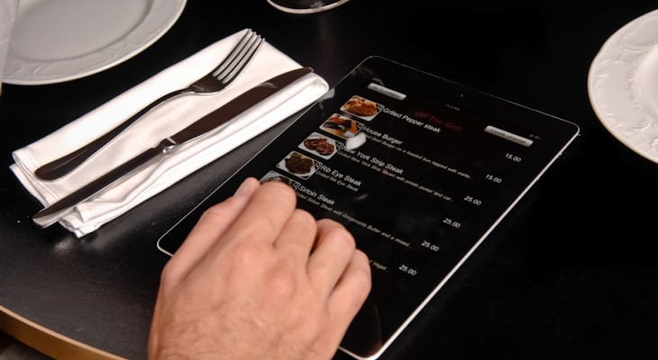 Digital Menu Ordering System For Restaurant