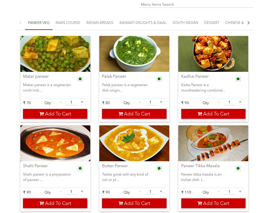 Attractive Online menus Make a Big Difference to The Food Business