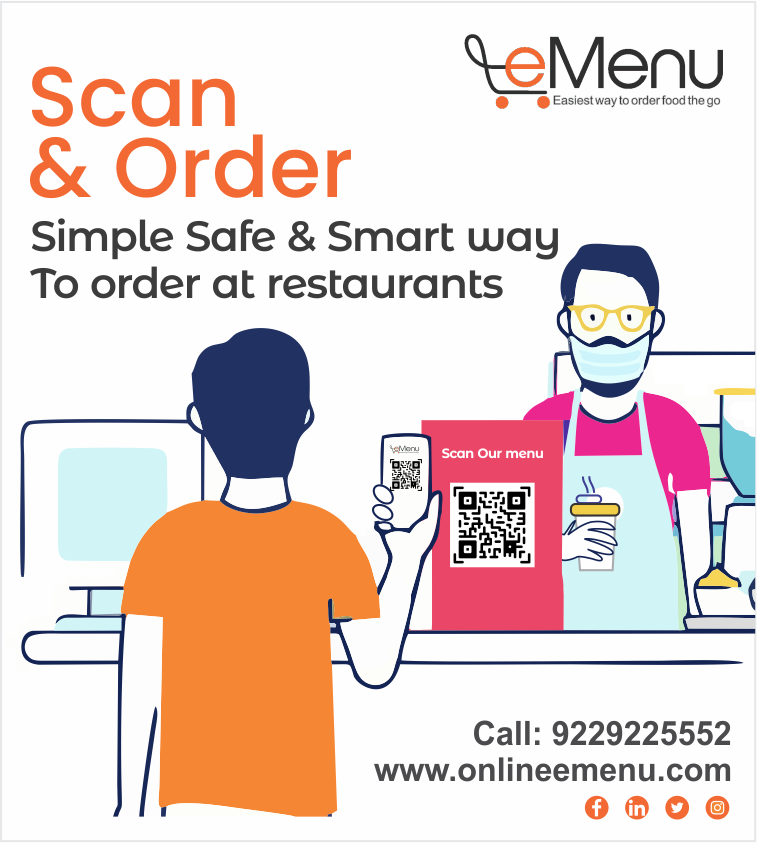 Just unlock the three key features and you are all set to entice your visitors with contactless ordering