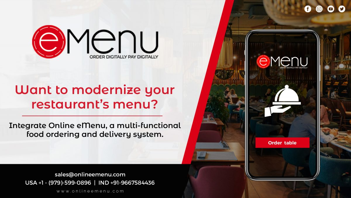 Get your own customized system for food ordering and delivery