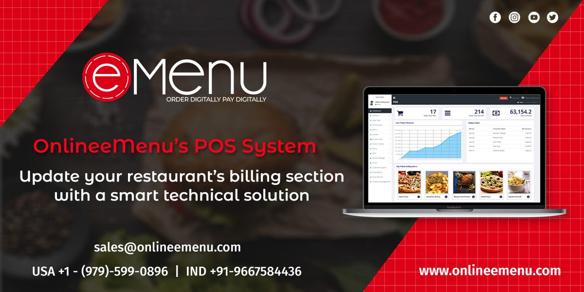 Check out the 3 reasons why your restaurant needs a POS system