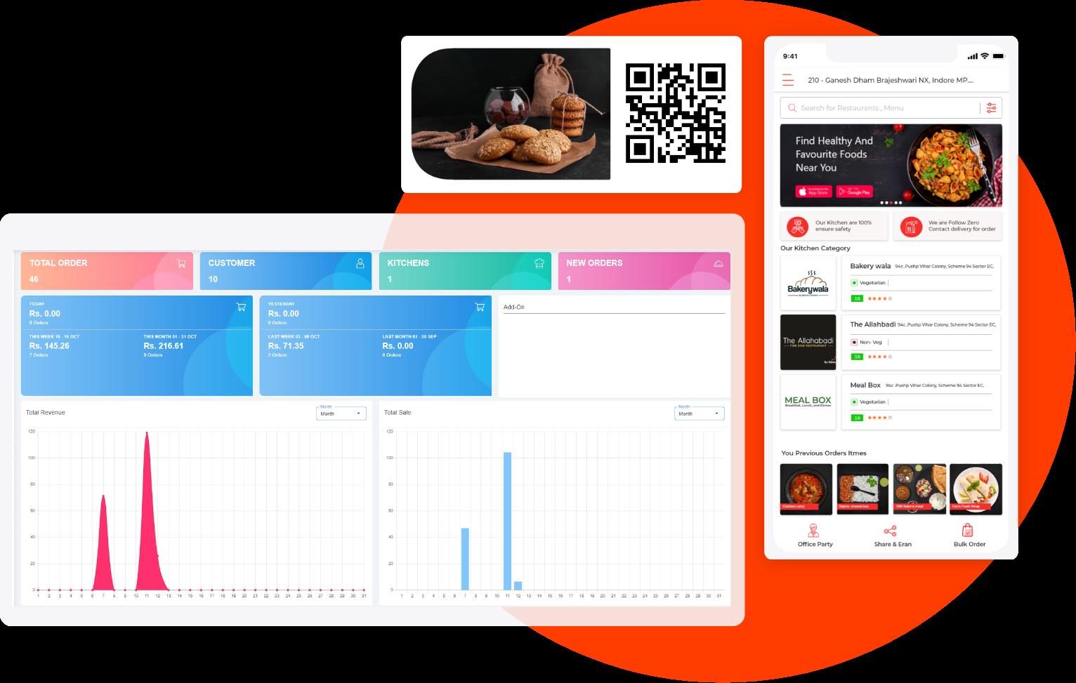 Online Food Delivery Software | eMenu App For Restaurants
